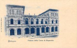 [DC5907] CARTOLINA - BOLOGNA - PALAZZO DELLA CASSA DI RISPARMIO - Non Viaggiata - Old Postcard - Bologna