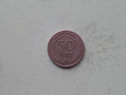 1924 W - 50 Ore / KM 796 ( Uncleaned - Details Zie Foto´s ) ! - Suède