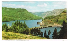 RB 1000 -  Jarrold Postcard - Caban Coch Reservoir Near Rhayader - Montgomeryshire Wales - Montgomeryshire