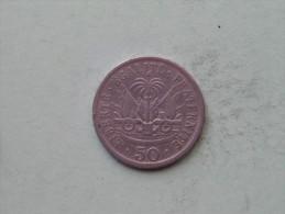 1908 - 50 Centimes / KM 56 ( Uncleaned - Details Zie Foto´s ) ! - Haïti