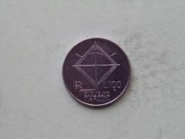 1974 - 100 Lire Marconi / KM 102 ( Uncleaned - Details Zie Foto´s ) ! - 1946-… : Republic