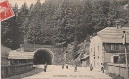 BUSSANG (Vosges) - Tunnel, Côté Alsacien - Très Animée - Bussang
