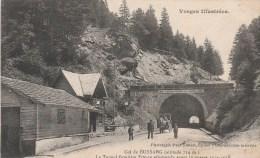 BUSSANG (Vosges) - Le Tunnel Frontière Franco Allemande Avant La Guerre De 1914-1918 - Animée - Bussang