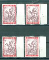 BELGIE - OBP Nr 1413 - Dag Van De Postzegel - PLAATNUMMER 1/4 - MNH** - Numéros De Planches