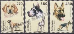 Belarus - Bielorussie 2003 Yvert 462-64, Dogs - MNH - Bielorrusia