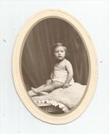 Photographie Ovale , 16.5 X 12.5 , Bébé , Frais Fr : 1.80€ - Anonyme Personen