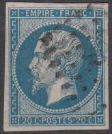 """Y &T 14B Variété """"A La Ciguarette"""" - 1849-1876: Classic Period"""