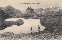 CPA - Chasseurs Alpins Et Lac Alpestre - - Régiments