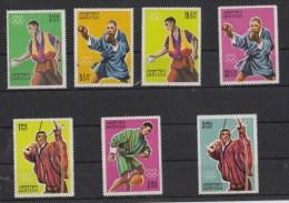Bhutan OLYMPIC GAMES STAMPS SET MNH 1964 - Summer 1964: Tokyo