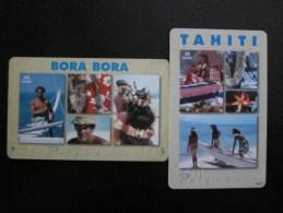 Chip Phonecard, Bora Bora Of Tahiti,two Cards,used - French Polynesia