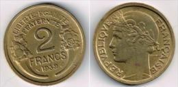 France - i.2 francs Morlon - 1939