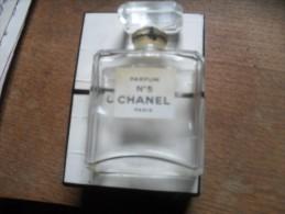 Flacon  Vide De Chanel N5 +n Sa Boite - Bottles (empty)