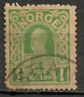 Timbres - Norvège - 1910 - 1 Kr. -
