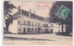 19181 L´HOPITAL Le MERCIER -- Le Château - François Marcigny ! Attention Décollée !