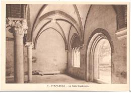 STAFFARDA DI REVELLO ( CUNEO ) LA SALA CAPITOLARE DELL'ANTICA ABBAZIA -FOTO A. PEDRINI - Cuneo