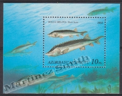 Azerbaidjan - Azerbaijan - Azerbaycan 1993 Yvert BF 3, Fauna, Fish - MNH - Azerbaiján