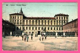 Torino - Palazzo Reale - Animée - MAURER TORTA E PECCO - 1913 - Palazzo Reale
