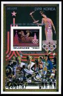 North Korea 1980 IMPERFORATED De Luxesheet Moscow Winners - Korea (Noord)