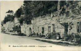 76 Route De DUCLAIR à ROUEN - Troglodytes - Duclair