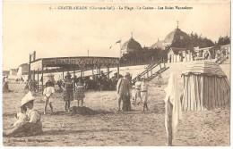 Dépt 17 - CHÂTELAILLON-PLAGE - La Plage - Le Casino - Les Bains Vantadoux - Châtelaillon-Plage