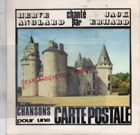 87 - COUSSAC BONNEVAL - RARE DISQUE VINYLE 45 TOURS - HERVE ANGLARD CHANTE PAR JACK ERHARD- THEOJAC LIMOGES -1971 - Vinyles