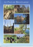 Pays De Brocéliande : Multivues Fontaine Barenton Pimpon Trecesson Arbre D'or Abbaye Hotié Viviane Chapelle St Jean - Frankrijk