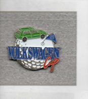 Pin´s  Sport  GOLF  VOLKSWAGEN  Cup  Avec  Les  Automobiles  Volkswagen - Golf