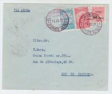 Brazil AIRMAIL COVER 1931 - Brazil