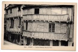CP, 79, NIORT, Vieilles Maisons, Rue Du Pont, Vierge - Niort