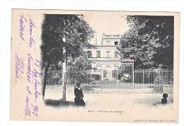 24049  MILLY La Foret - Chateau Du Roussay -lib Hamelin - Milly La Foret