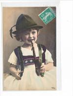 24052 Enfant Baviere Pipe Tabac -423/2 Oranotypie Geetzlich Geschutzt 1904 - Allemagne Chapeau - Bébés