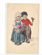 24053 Enfant  Dessin K Fiertag -BKW 1 616-1, Pinted In Austria