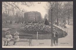 CROATIA - Zagreb, Year 1907, Zrinski Square - Kroatië