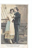 24054 Serie Marin Femme Amoureux Costume Voilier Bateau -AS 316 IV  4 Compagne Douce Retrouve Pays - Voiliers