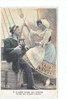 24056 Serie Marin Femme Amoureux Costume Voilier Bateau -AS 316 V 5 Oublie Miseres Projets Avenir - Voiliers
