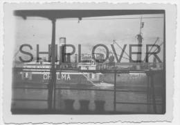 cargo CHELMA � Dakar le 5 d�cembre 1942 - photo authentique/ancienne/vint age picture - bateau/ship/schiff