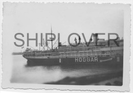 paquebot HOGGAR � Dakar le 5 d�cembre 1942 - photo authentique/ancienne/vint age picture - bateau/ship/schiff