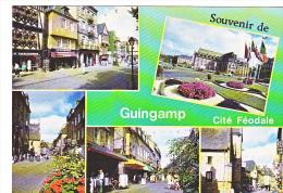 24061 2 Cpm Guingamp -C435&424 Ed Dubray Conches - Patisserie Idylle Chausseur Multivues - - Guingamp