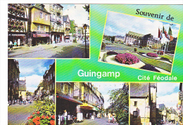 24061 2 Cpm Guingamp -C435&424 Ed Dubray Conches - Patisserie Idylle Chausseur Multivues -