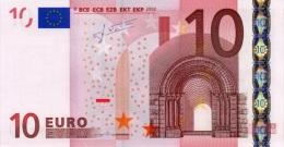 EURO PORTUGAL 10 M TRICHET U006 UNC - EURO