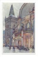 10603 -  Praha Palais Des Fêtes De La Ville De Prague Vieille Voiture - Tchéquie