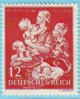 GERMANIA Reich -1943 - Winter Aid   Mi. 859 Serie Cpl 1v. Nuovi** - Deutschland