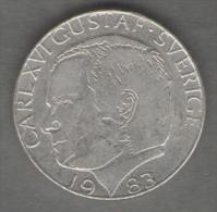 SVEZIA 1 KRONA 1983 - Schweden