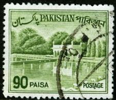 PAKISTAN, PANORAMI, LANDSCAPES, 1962, FRANCOBOLLO USATO - Pakistan