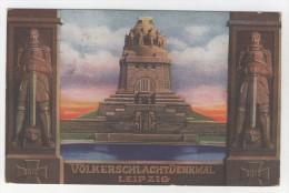 Leipzig Völkerschlachtdenkmal1913 - Offizielle Postkarte - Leipzig