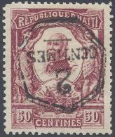 HAITI 1906 2cNº 89A INVERTED SURCHRAGE VARIETY - Haití