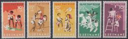 Suriname - Kinderzegels, Feesten - Postfris/MNH - NVPH 462-466 - Suriname ... - 1975