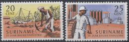 Suriname - 50 Jaar Bauxietindustrie - Postfris/MNH - NVPH 468-469 - Suriname ... - 1975