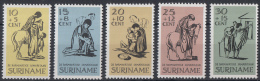 Suriname - Paaszegels - Postfris/MNH - NVPH 470-474 - Suriname ... - 1975