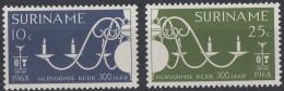 Suriname - 300 Jaar Hervormde Kerk Paramaribo - Postfris/MNH - NVPH 497-498 - Suriname ... - 1975